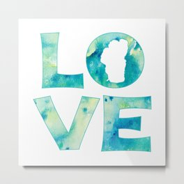 Waterlove Metal Print