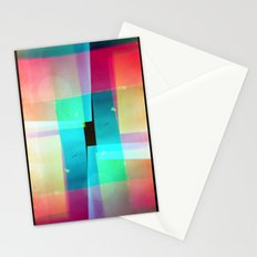 constructs #1 (35mm multiple exposure) Stationery Cards
