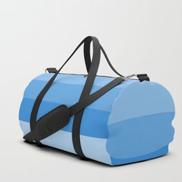 Four Shades of Light Blue Duffle Bag