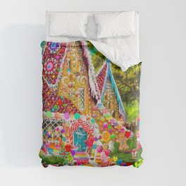 The Gingerbread House Duvet Cover