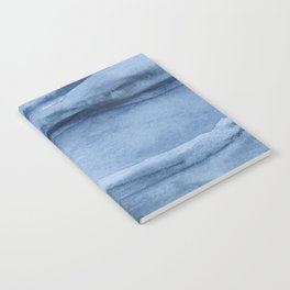 Indigo Blue Agate Pattern Notebook