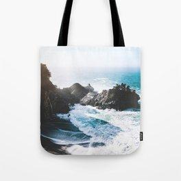 ocean falaise Tote Bag
