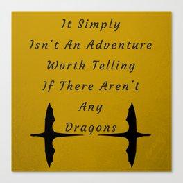 Dragon Adventure Canvas Print