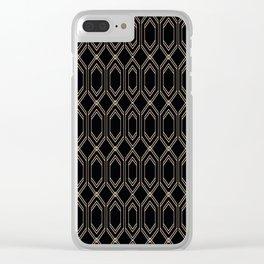 Geometric pattern.3 Clear iPhone Case
