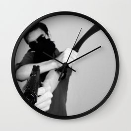 Ready for War Wall Clock