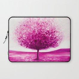 Pink tree landscape Laptop Sleeve