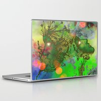 "gemini Laptop & iPad Skins featuring "" Gemini "" by shiva camille"