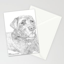 Portrait of Tucker Stationery Cards