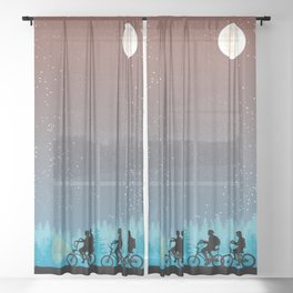 Searching for Will B. - 80s things Sheer Curtain