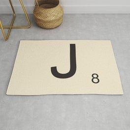 Scrabble J Rug