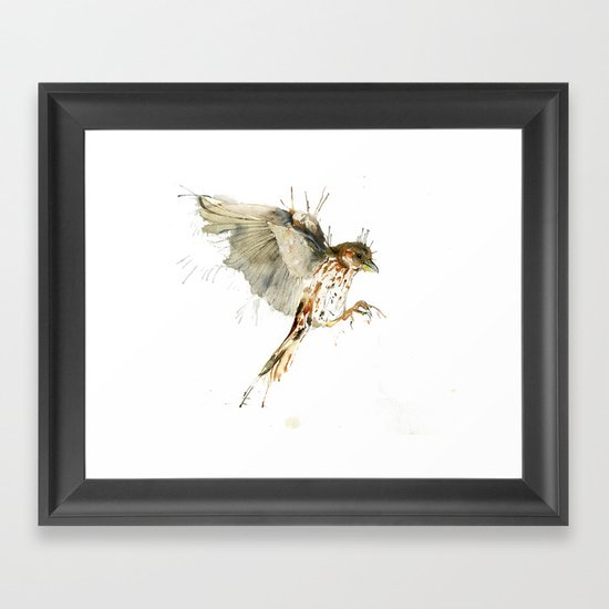 My Sparrow Framed Art Print