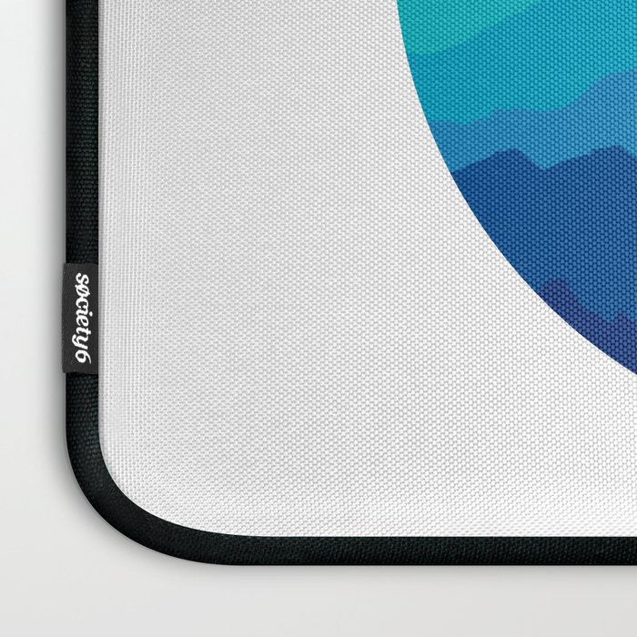 Blue Mist Mountains Laptop Sleeve