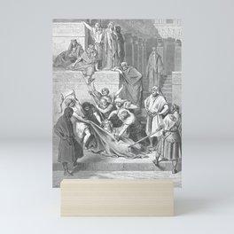 Gustave Doré - La Grande Bible de Tours (1866) 149 The Martyrdom of Eleazar the Scribe Mini Art Print