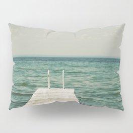 Mint Lake Escape  Pillow Sham