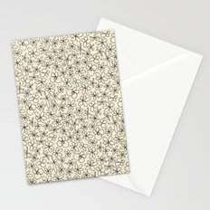 garland flowers ivory Stationery Cards