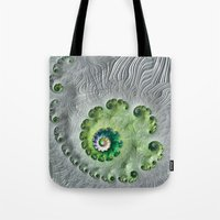 oasis Tote Bags featuring Oasis by Steve Purnell