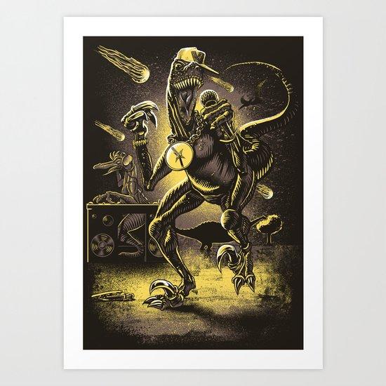 VelociRapper Art Print