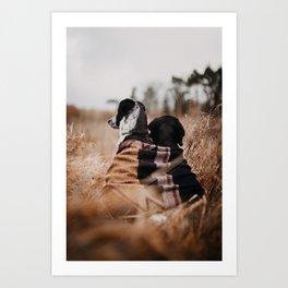 /// WILD FRIENDS /// Art Print
