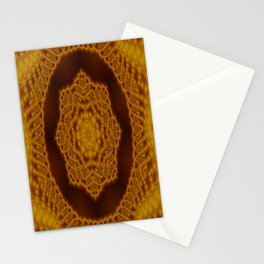 Macrame fractal Stationery Cards