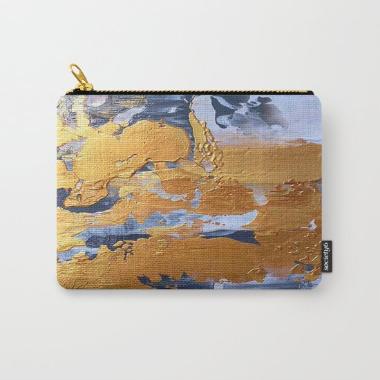 Gold in the ice Carry-All Pouch