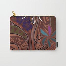 Samoan - Hawaiian - Polynesian Tribal Threads Carry-All Pouch