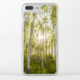Summer is Coming Clear iPhone Case
