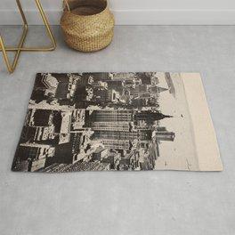 Lower Manhattan, New York City. 1914 Rug