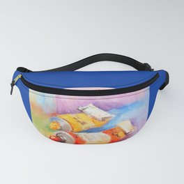 Bold Colors Fanny Pack