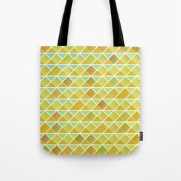 Tiny triangles pattern Tote Bag