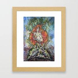 Äiti Framed Art Print