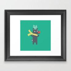 RUDOLF Framed Art Print