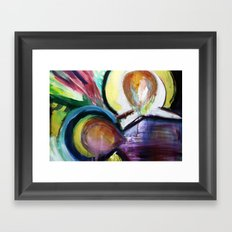 Off the Cross Icon Framed Art Print