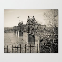 Welcome to Vicksburg 3 Canvas Print