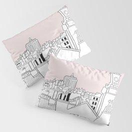 Rooftops - Brussels Marolles Quarter Pillow Sham