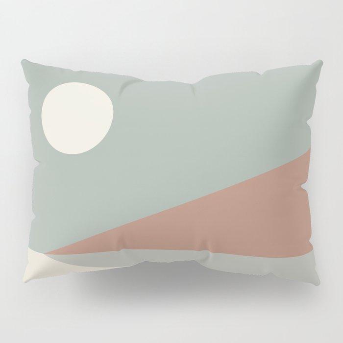 Geometric Landscape 03 Pillow Sham