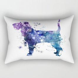 Bloodhound dog Rectangular Pillow