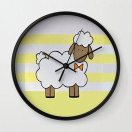 Little Sheep II Wall Clock