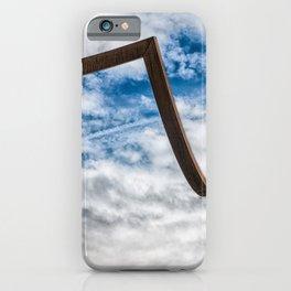 Just Around The Corner iPhone Case