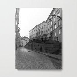 Stockholm Old Town Metal Print