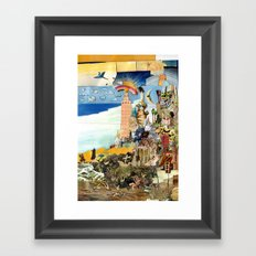 Attack and Defend Framed Art Print