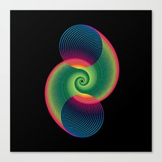 Double Spiral  Canvas Print