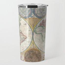 Old antique map Travel Mug