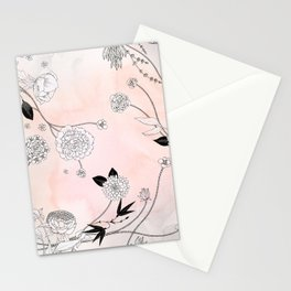 Coral Dust Stationery Cards