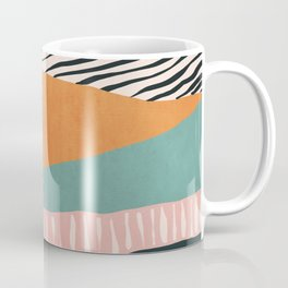 Modern irregular Stripes 02 Coffee Mug