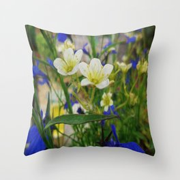 An insects eye view. Throw Pillow