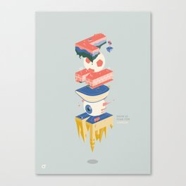 Parallel London - Show us your type Canvas Print