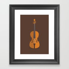The Case of the Curious Stradivarius Framed Art Print