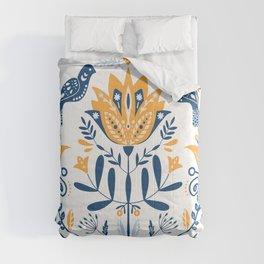 Scandinavian Folk Study 010 Comforters