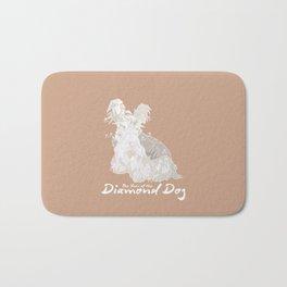 The Year of the Diamond Dog Bath Mat