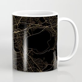 Edinburgh map, Scotland Coffee Mug